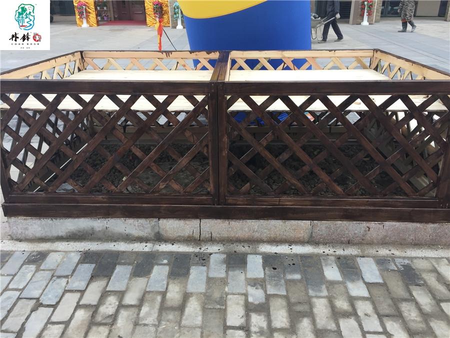 盐城防腐木护栏围栏